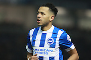 Brighton defender full back Liam Rosenior during the Sky Bet Championship match between Brighton and Hove Albion and Reading at the American Express Community Stadium, Brighton and Hove, England on 15 March 2016. Photo by Bennett Dean.
