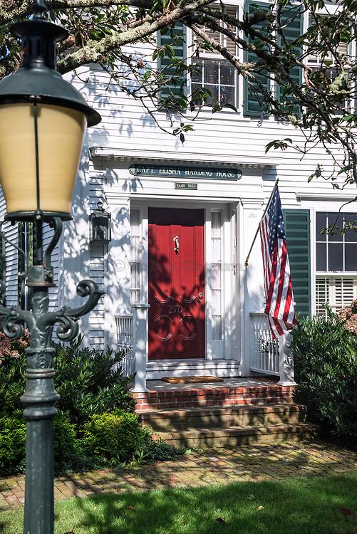 Captain Elisha Harding house, built 1853, Chatham, Cape Cod, Massachusetts, USA