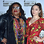 Chizzy Akudolu attend TriForce Short Festival, on 30 November 2019, at BFI Southbank, London, UK.