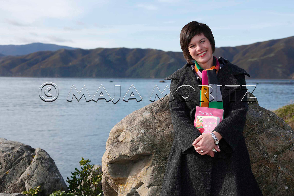 Catherine Robertson at home in Seatoun, Wellington, New Zealand