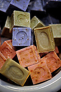 Handmade soap for sale at The Paris Market & Brocante in historic downtown Savannah, Ga. (Photo by Stephen Morton)