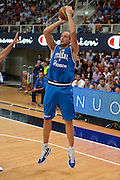 09082013 TRENTO - TRENTINO BASKET CUP - ITALIA POLONIA<br /> NELLA FOTO : CUSIN<br /> FOTO CIAMILLO