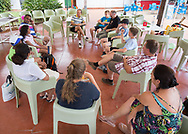 Bob Brett Tennis in San Remo<br /> <br />  - Bob Brett School of Tennis  -  -  Solaro Tennis Club - San Remo -  - Italien  - 23 July 2016. <br /> &copy; Juergen Hasenkopf