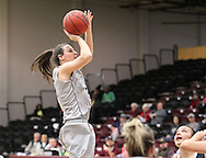 December 18, 2014: The University of Texas - Permian Basin Falcons play against the Oklahoma Christian University Lady Eagles in the Eagles Nest on the campus of Oklahoma Christian University.