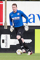 HELMOND - Helmond Sport - Achilles 29 , Lavans stadion , Voetbal , Jupiler League , 01-05-2015 , Achilles 29 keeper Leon ter Wielen