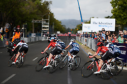 Team Sunweb during Stage 4 of 2020 Santos Women's Tour Down Under, a 42.5 km road race in Adelaide, Australia on January 19, 2020. Photo by Sean Robinson/velofocus.com