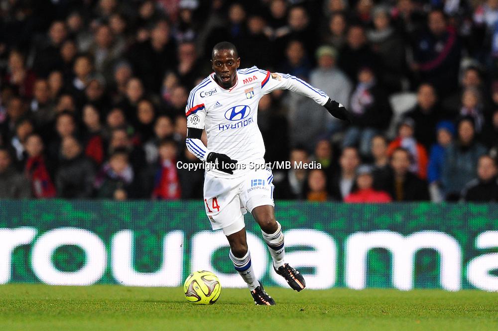 Mouhamadou DABO - 11.01.2015 - Lyon / Toulouse - 20eme journee de Ligue 1<br /> Photo : Jean Paul Thomas / Icon Sport