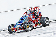 Rapid Racing VIC #20 Wingless Sprint Race car.Shot on location in Port Melbourne, Victoria.8th of October 2011.(C) Joel Strickland Photographics..Use information: This image is intended for Editorial use only (e.g. news or commentary, print or electronic). Any commercial or promotional use requires additional clearance.