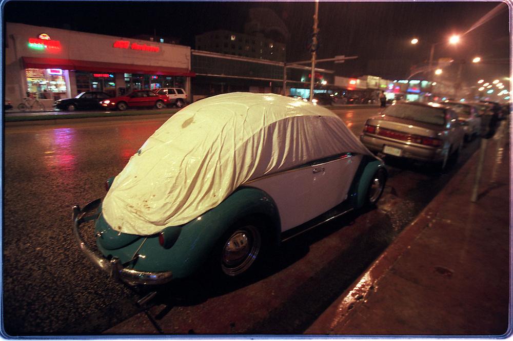 VW 60something... on Washington Ave and 14 street , Southe Beach, Fla.