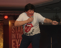 Dr Ollie Whyte as Mick Jagger at Westport United&rsquo;s &lsquo;Stars in their Eyes&rsquo; on friday night last.<br /> Pic Conor McKeown