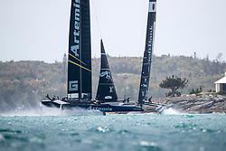 Third day of the Louis Vuitton America's Cup Semi-finals. Artemis Racing versus Softbank Team Japan, Artemis wins 3 in a row, 4-3. 8th of June, 2017, Bermuda