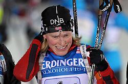04.01.2012, DKB-Ski-ARENA, Oberhof, GER, E.ON IBU Weltcup Biathlon 2012, Staffel Frauen, im Bild Tora Berger (NOR) .// during relay Ladies of E.ON IBU World Cup Biathlon, Thüringen, Germany on 2012/01/04. EXPA Pictures © 2012, PhotoCredit: EXPA/ nph/ Hessland..***** ATTENTION - OUT OF GER, CRO *****