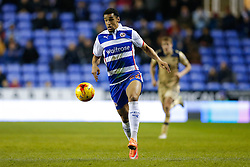 Nick Blackman of Reading in action - Photo mandatory by-line: Rogan Thomson/JMP - 07966 386802 - 10/02/2015 - SPORT - FOOTBALL - Reading, England - Madejski Stadium - Reading v Leeds United - Sky Bet Championship.