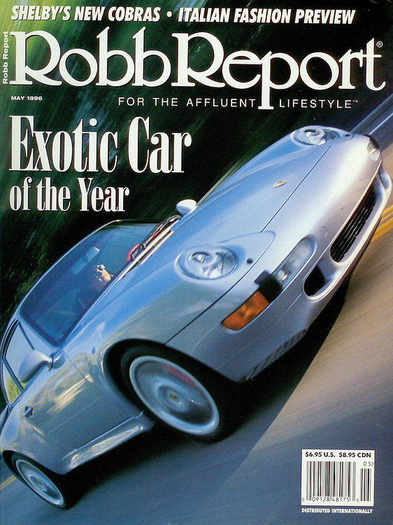 Magazine Cover - Robb Report Porsche 911