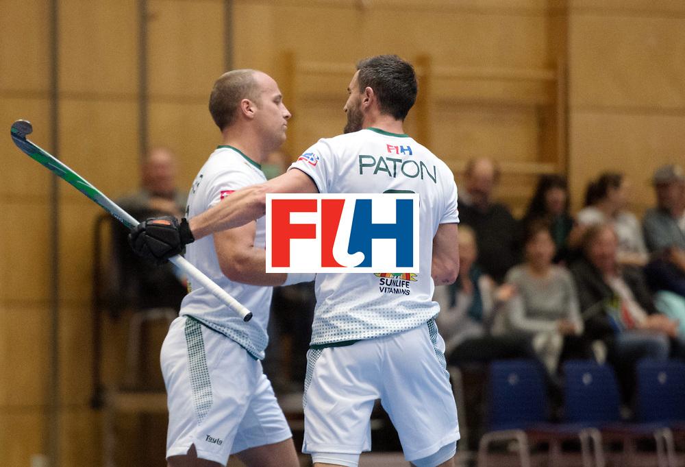 BERLIN - Indoor Hockey World Cup<br /> Kazakhstan - South Africa<br /> foto: Matthew Fairweather <br /> WORLDSPORTPICS COPYRIGHT FRANK UIJLENBROEK