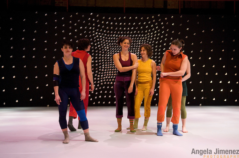 "The LAVA dance company, featuring performers Rose Calucchia, Molly Chanoff, Diana Y Greiner, Lollo, Allison Schnur and Amy Dawn Verebay perform their show ""We Become"" in a dress rehearsal at the Brooklyn Lyceum in Brooklyn on February 11, 2009. ..photo by Angela Jimenez for LAVA"