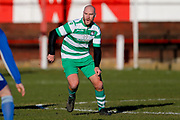 Selby Hands of Hope Patron Gareth Ellis in action  during the Annual Selby Hands of Hope Charity match between Selby Hands of Hope FC and Malt Shovel FC at The Fairfax Stadium, Selby Town FC, Selby, United Kingdom on 28 December 2017. Photo by Simon Davies.