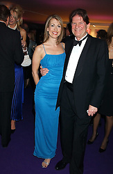 TV presenter FELICITY BARR and JOHN MADJESKI at The British Red Cross London Ball - H2O The Element of Life, held at The Room by The River, 99 Upper Ground, London SE1 on 17th November 2005.<br /><br />NON EXCLUSIVE - WORLD RIGHTS