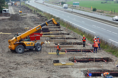 Calais: Anti-Migrants Wall Under Construction, 22 September 2016