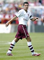 Photo: Jonathan Butler.<br /> Barnet v Arsenal. Pre Season Friendly. 14/07/2007.<br /> Robin Van Persie of Arsenal.
