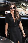 Victoria Beckham arriving to Balthazar Restaurant in New York City