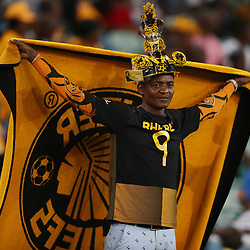Kaizer Chiefs  fans during the  match between Kaizer Chiefs and Ajax Cape Town at Moses Mabhida Stadium in Durban, South Africa. 16th December 2017 (Photo by Steve Haag)