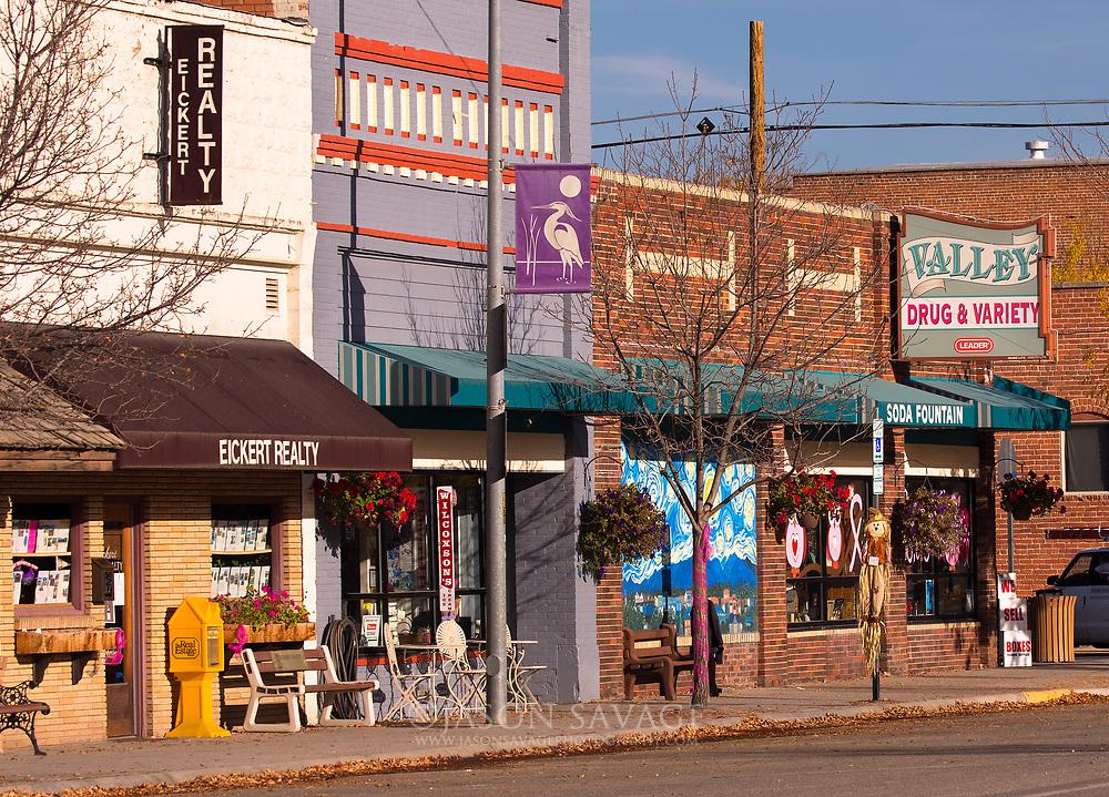 Downtown Hamilton, Montana.