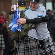 Kiltwalk 2012 - The finishing line