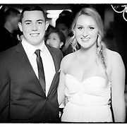 Green Bay High School Ball 2013 - B&W Entrance