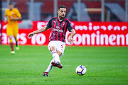 Giacomo Bonaventura of AC Milan during the Italian championship Serie A football match between AC Milan and AS Roma on August 31, 2018 at San Siro stadium in Milan, Italy - Photo Morgese - Rossini / ProSportsImages / DPPI
