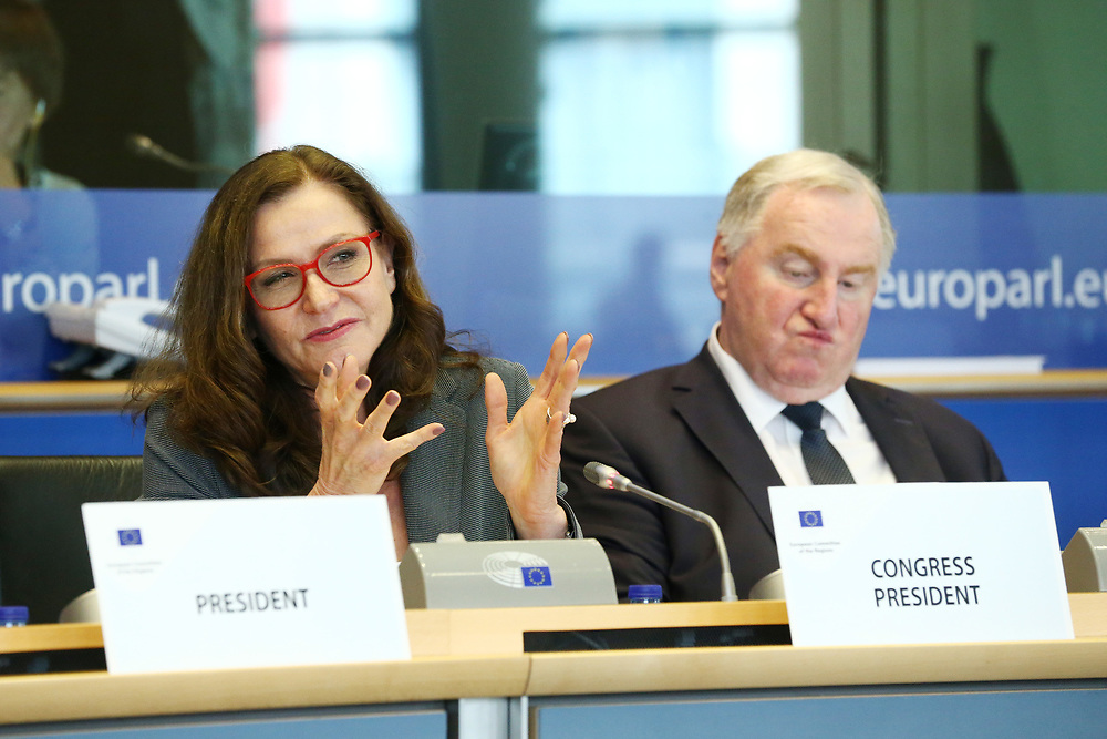 12 May 2017, 123rd Plenary Session of the European Committee of the Regions <br /> Belgium - Brussels - May 2017 <br /> <br /> Ms Gudrun Mosler-Tornstrom, President of the Congress of the Council of Europes<br /> <br /> &copy; European Union / Patrick Mascart