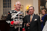 TRISTRAM CARTER; CAVALRY HON ARTILLERY; KEITH O'CALLAGHAN, Book launch for The Speedicut Papers, edited by Christopher Joll.- Bucks Club, Clifford St. London W1.