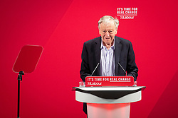 © Licensed to London News Pictures. 26/11/2019. London, UK. Lord Dubs speaks at the launch of the Labour Party's new Race and Faith manifesto at an event in Tottenham Green, North London. Photo credit: Rob Pinney/LNP