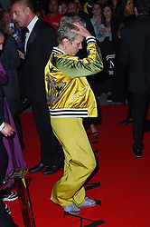 Frances McDormand changes from her bizarre Met Gala outfit into a silk yellow sports suit. 07 May 2018 Pictured: Frances McDormand. Photo credit: MEGA TheMegaAgency.com +1 888 505 6342