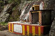 Sri Lanka. Hindu shrine at Dambetenne tea estate. 2004
