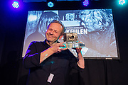 Chris Keulen wint de Zilveren Camera 2017. In Hilversum wordt de Canon Zilveren Camera uitgereikt, de Nederlandse prijs voor fotojournalistiek.
