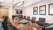 The newly remodled conference room at the DoubleTree Hilton Airport in West Palm Beach, Florida.  Photography by Jeffrey A McDonald