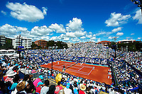 BARCELONA, SPAIN - APRIL 23: The ATP 500 World Tour Barcelona Open Banco Sabadell 2011 tennis tournament at the Real Club de Tenis on April 23, 2011 in Barcelona, Spain. (Photo by Manuel Queimadelos Alonso)