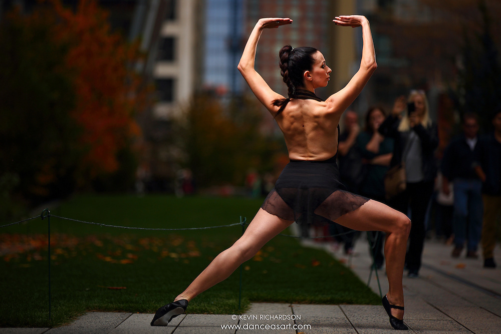 Dance As Art New York City Photography Project High Line Series with dancer, Janna Davis