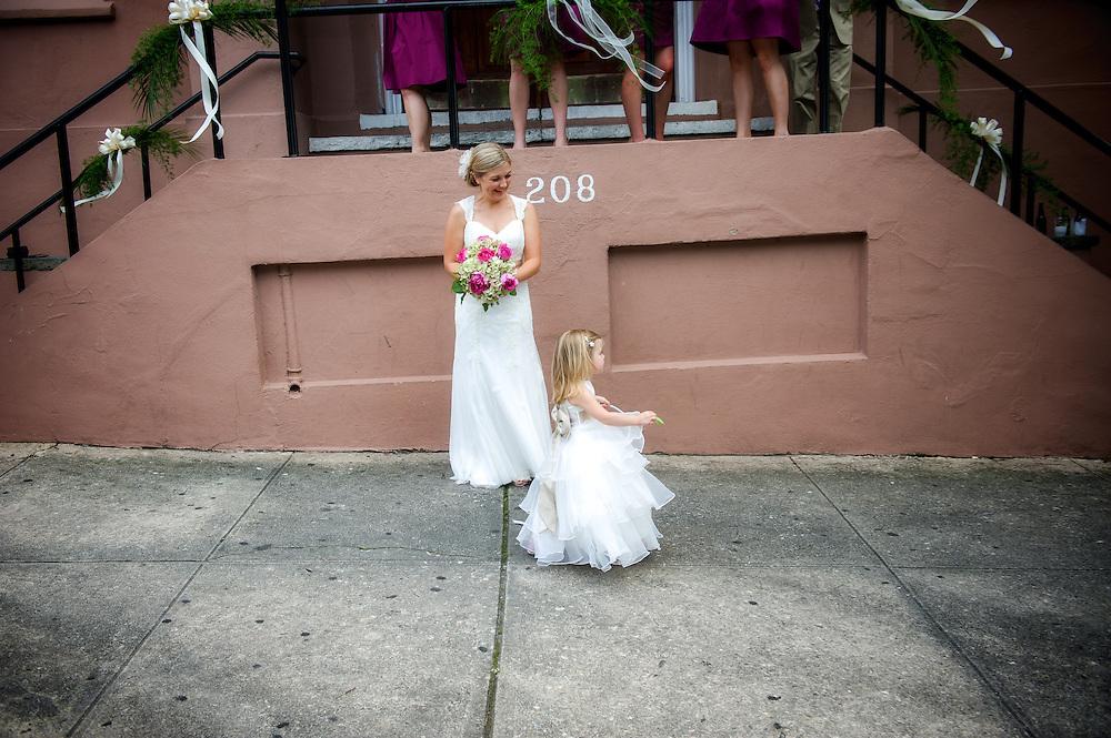 Flower Girl, Wilmington NC Wedding