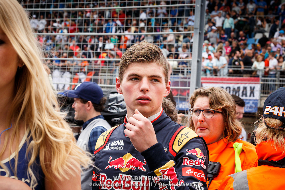 NLD/Zandvoort/20150628 - F1 demo Max Verstappen in de Toro Rosso, Max Verstappen