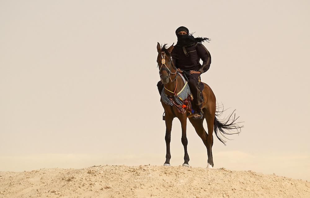 Tunisia - Touareg horse driver