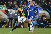 Gillingham midfielder Josh Wright during the Sky Bet League 1 match between Gillingham and Port Vale at the MEMS Priestfield Stadium, Gillingham, England on 16 April 2016. Photo by Martin Cole.