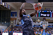 Dustin Hogue<br /> Dolomiti Energia Aquila Basket Trento - Consultinvest Victoria Libertas Pesaro<br /> Lega Basket Serie A 2016/2017<br /> Trento, 26/03/2017<br /> Foto Ciamillo - Castoria
