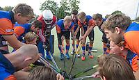 HAARLEM - Eerste ronde bekerhockey om de SILVERCUP. Saxenburg tegen Abcoude .   aanvoerder Arjan Duijff van Saxenburg. COPYRIGHT KOEN SUYK
