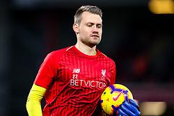 Simon Mignolet of Liverpool - Mandatory by-line: Robbie Stephenson/JMP - 02/12/2018 - FOOTBALL - Anfield - Liverpool, England - Liverpool v Everton - Premier League