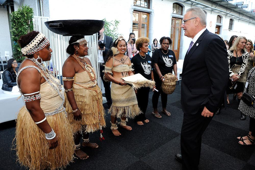 20150604- Brussels - Belgium - 04 June2015 - European Development Days - EDD  - Neven Mimica Devco meets a delegation from Solomon Islands © EU/UE