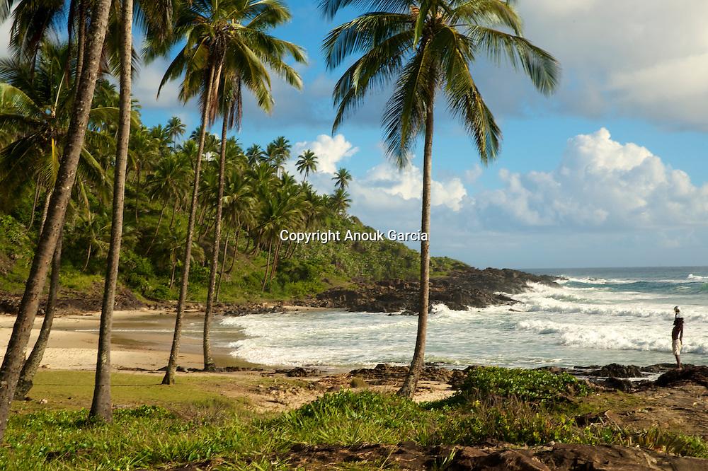 Plage de Rezende, un paradis a? 1km de centre du village d'Itacare?///Beach of Rezende, a paradise with 1km of center of the village of Itacare?