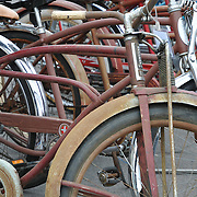 Vintage bicycles at 2011 Fall Bicycle Swap Meet, Tucson, Arizona. Bike-tography by Martha Retallick.