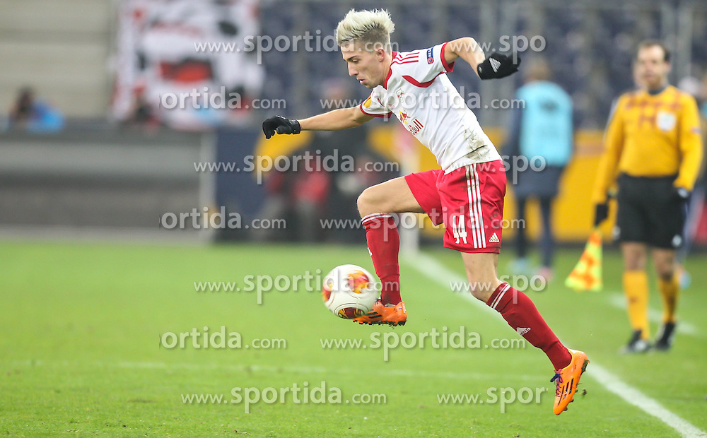 12.12.2013, Red Bull Stadion, Salzburg, AUT, UEFA EL, FC Red Bull Salzburg vs Esbjerg fB, Gruppe C, im Bild Kevin Kampl, (FC Red Bull Salzburg, #44) // during the UEFA Europa League group C Match between FC Red Bull Salzburg and Esbjerg fB at the Red Bull Stadion, Salzburg, Austria on 2013/12/12. EXPA Pictures © 2013, PhotoCredit EXPA/ Roland Hackl